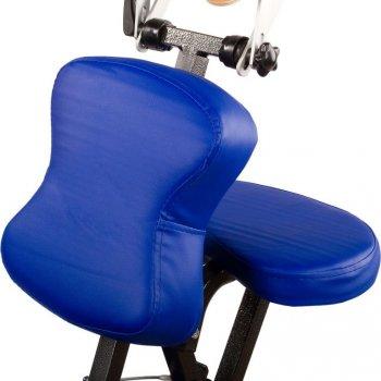 Masážní židle Movit skládací modrá 8,5 kg