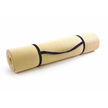Podložka na cvičení 190 x 102 x 1,5 cm - krémová D01638