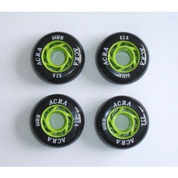 Náhradní kolečka do kolečkových bruslí 64 x 24 mm