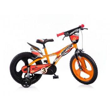 Kolo dětské Dino 16 oranžové AC40934