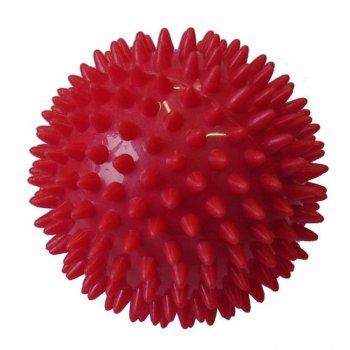 Míček masážní průměr 7,5 cm červený