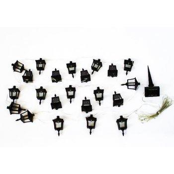 Venkovní solární LED osvětlení Garth - Lucerničky 24 LED diod D00222
