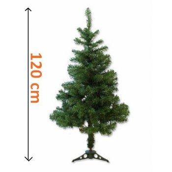 Umělý vánoční strom - tmavě zelený, 1,20 m
