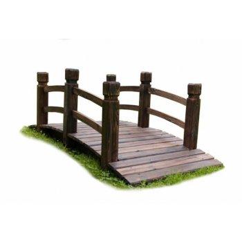 Dřevěný zahradní můstek Garth 150 x 67 x 55 cm D00568