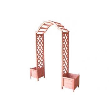 Dřevěná vchodová pergola Garth D02337