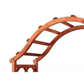 Dřevěná vchodová pergola Garth