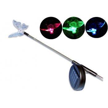 Zahradní solární LED osvětlení Motýl D00288