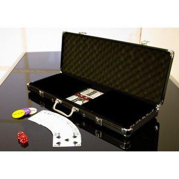 Hliníkový kufr na 500 ks žetonů s příslušenstvím D00503