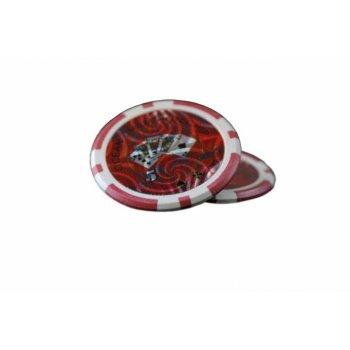 Kusový žeton design Ocean Hodnota 5 - 50 ks