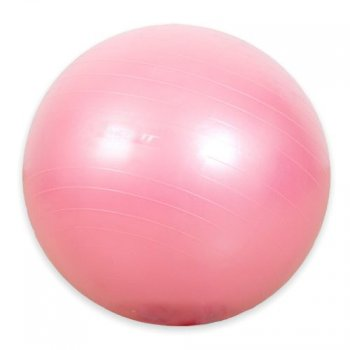 Gymnastický míč MOVIT - růžový 75 cm M01987