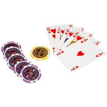 Poker set 1000 ks žetonů OCEAN Trolley