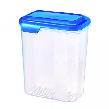 Plastová dóza FLEXI CHEF 1.6L - modré víko CURVER R31862