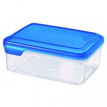 Plastová dóza FLEXI CHEF 1.5L - modré víko CURVER R31859