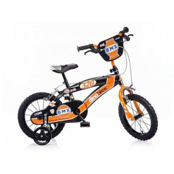 Dětské kolo Dino BMX 145 černé 14 AC30146