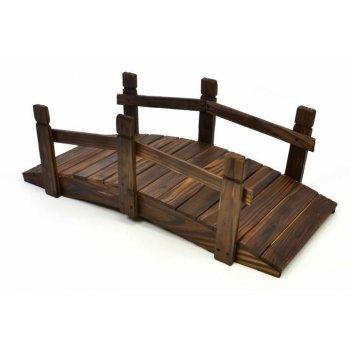 Dřevěný můstek Garth 70 x 32 x 25 cm D00607