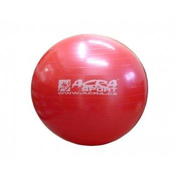 Míč gymnastický 750 mm červený AC40038