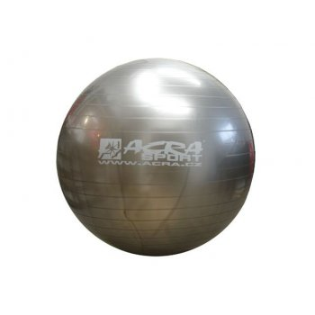 Míč gymnastický (gymball)  900 mm šedý