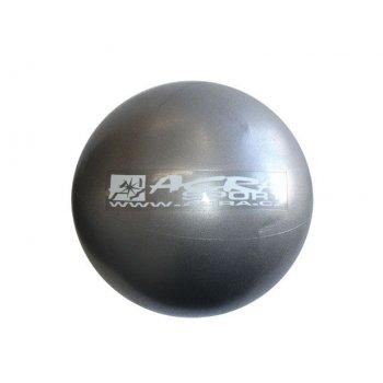 Míč OVERBALL 30 cm, stříbrný