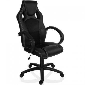 Otočná kancelářská židle ČERNÁ GS Series M09496