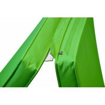 Sada 2x  polstrování pro lehátko 188 cm - světle zelená