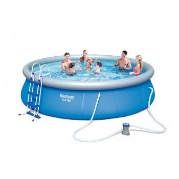 Samostavěcí bazén Bestway 457 x 107 cm + kompletní příslušenství AC40839