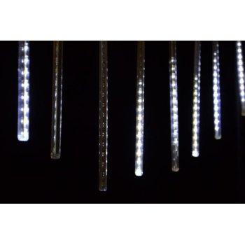 Vánoční dekorativní osvětlení - vodopádový efekt - studeně bílé