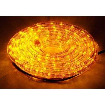 LED osvětlení - žluté, 10 m D00840