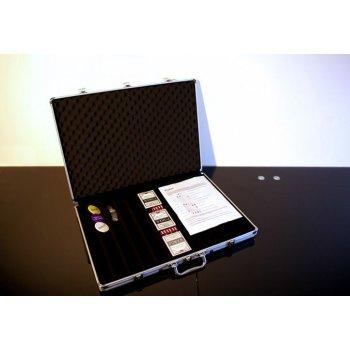 Hliníkový kufr na 1000 ks žetonů s příslušenstvím D00491