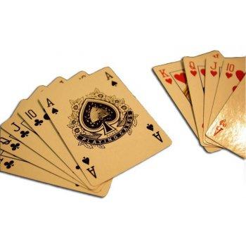 Sada 2 ks Poker karet No92 100% PLAST D00525
