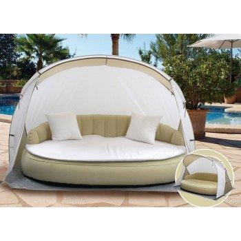 Luxusní zahradní lehátko DEKOVITA ISLAND + příslušenství EX43250