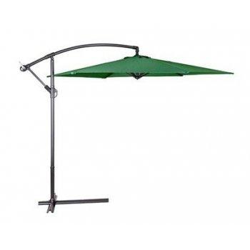Slunečník  EXCLUSIVE boční - zelený 300cm