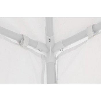 Zahradní párty stan klasický 3x3 + boční stěny - bílá