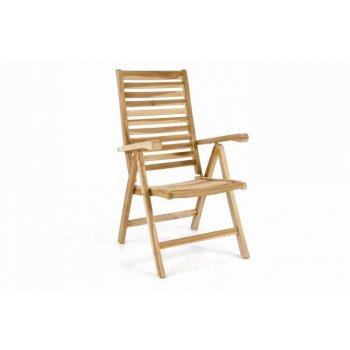 Polohovatelná zahradní židle DIVERO D40817