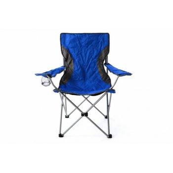 Skládací zahradní židle - modrošedá D40779