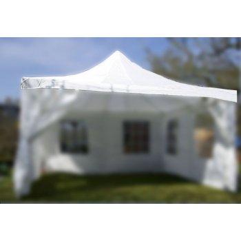 Střecha na zahradní párty stan 4 x 4 m bílá D00602