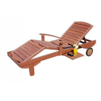 Zahradní dřevěné lehátko MELAS FSC R07124
