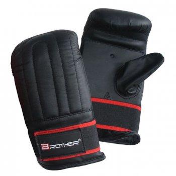 Boxerské kožené rukavice pytlovky, vel.M AC43371