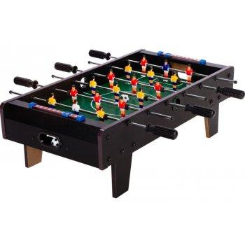 Mini stolní fotbal fotbálek s nožičkami 70 x 37 x 25 cm - černý M43251