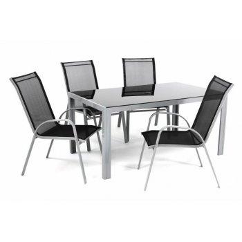 Sada zahradního nábytku pro 4 osoby vč. stolu D40997