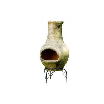TERA Venkovní zahradní terakotový krb 83 cm D00268