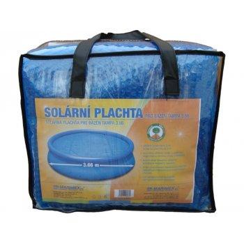 Solární plachta modrá - průměr 3 m