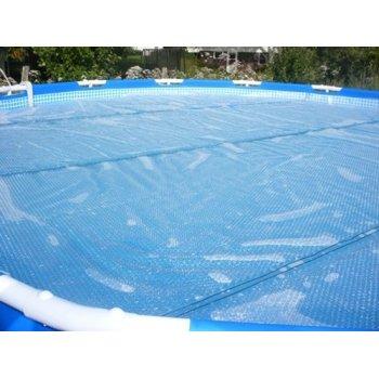 Solární plachta modrá - průměr 2,50 m