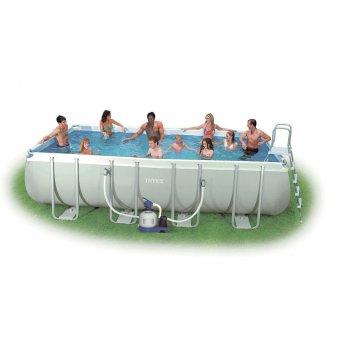 Bazén Tahiti 2,74x5,49x1,32 m s pískovou filtrací Sand 4