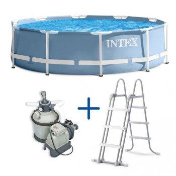 Sada Bazén Florida 3,66x0,99 m + filtrace a schůdky MA43430
