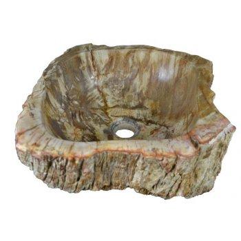 Umyvadlo z přírodního kamene FOSSIL DIVERO - malé