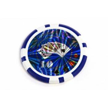 Kusový žeton design Ocean hodnota 10 - 50 ks