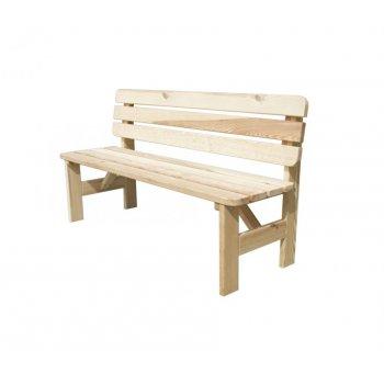 Dřevěná lavice VIKING - 200CM R35266