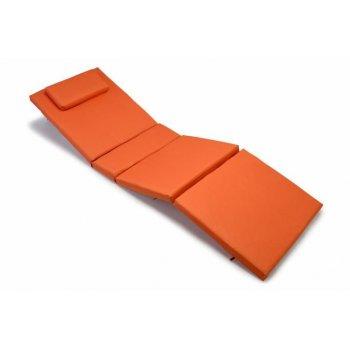 Polstrování na lehátko Garth - oranžová D00322