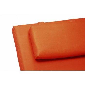 Polstrování na lehátko Garth - oranžová