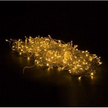 Vánoční LED osvětlení 20 m - teple bílá 200 LED M01223